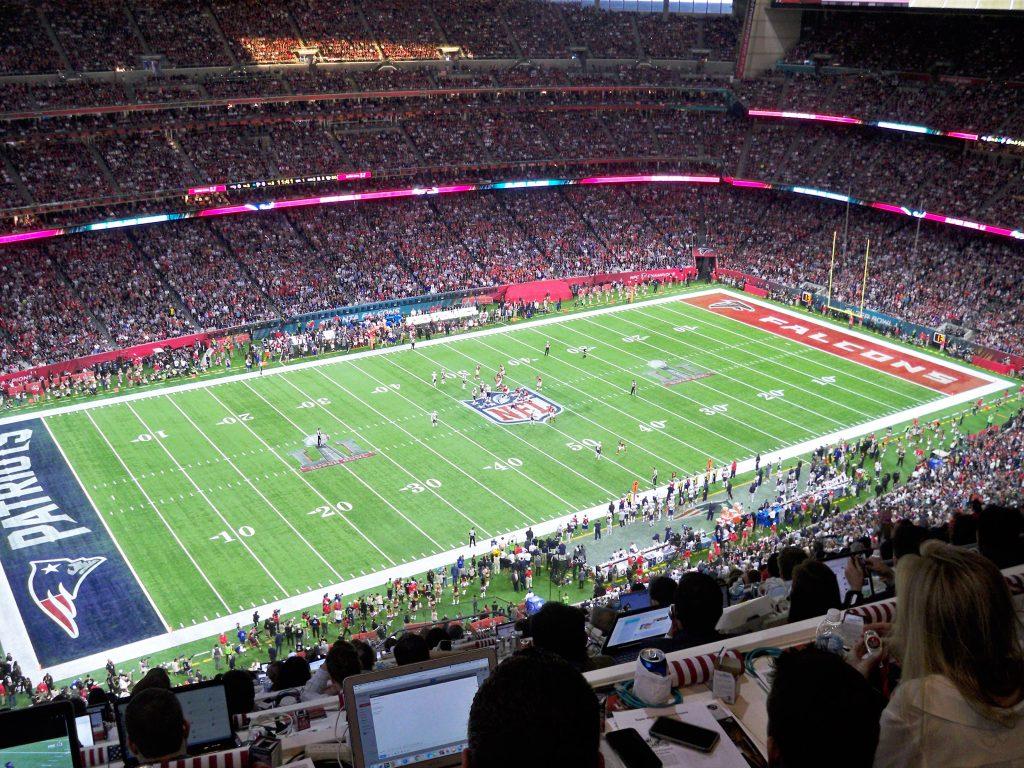 Mein Blick ins NRG Stadium bei Super Bowl LI