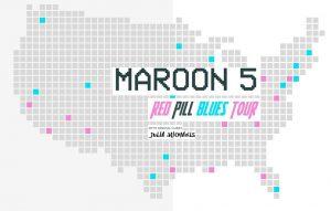 Maroon 5 beim Super Bowl