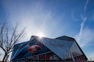 Super Bowl LIII - Stadion außen