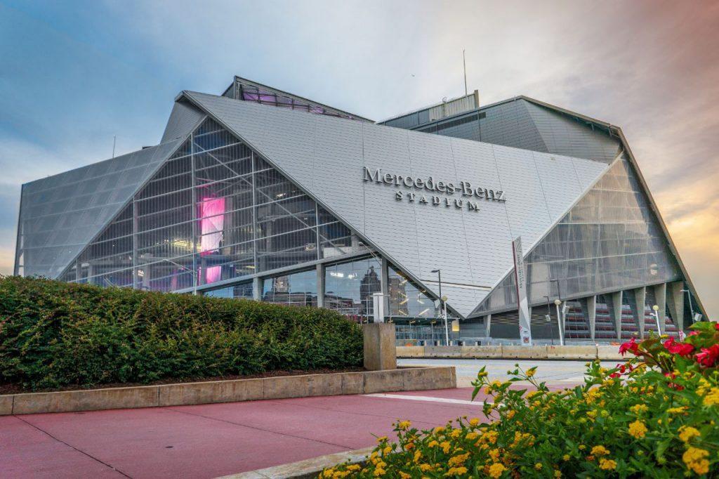 Mercedes-Benz Stadium - außen