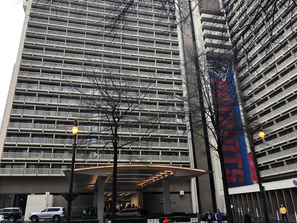 Super Bowl LIII - Hotel Pats