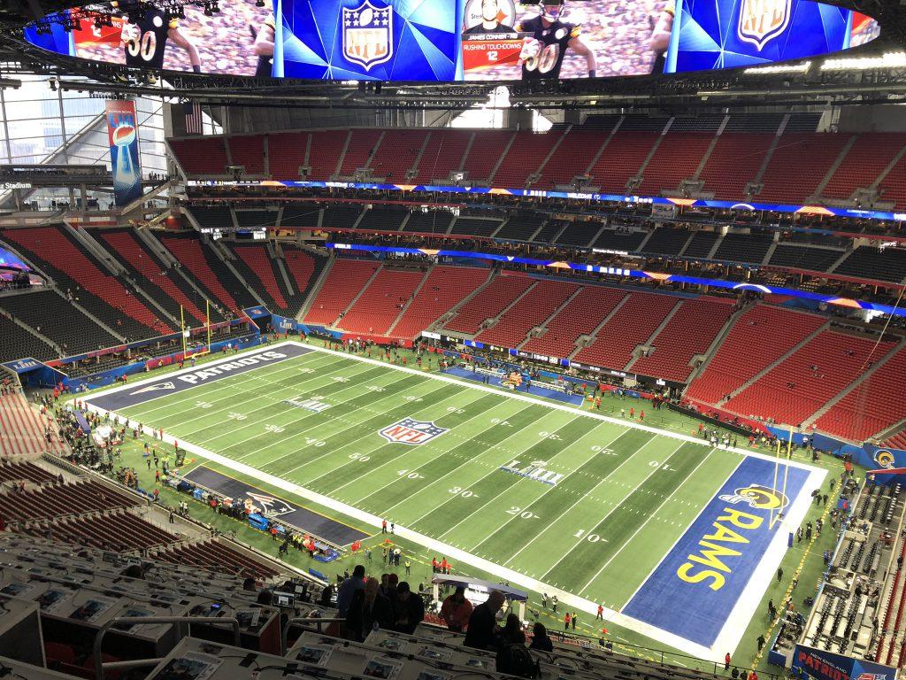 Super Bowl LIII - Aussicht