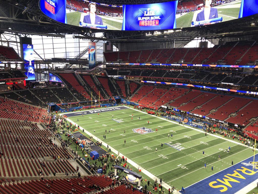 Radio und Super Bowl LIII