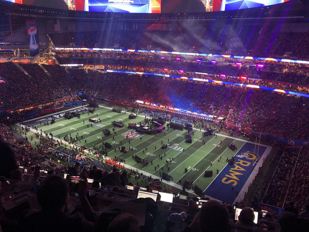 Super Bowl LIII - Halbzeit