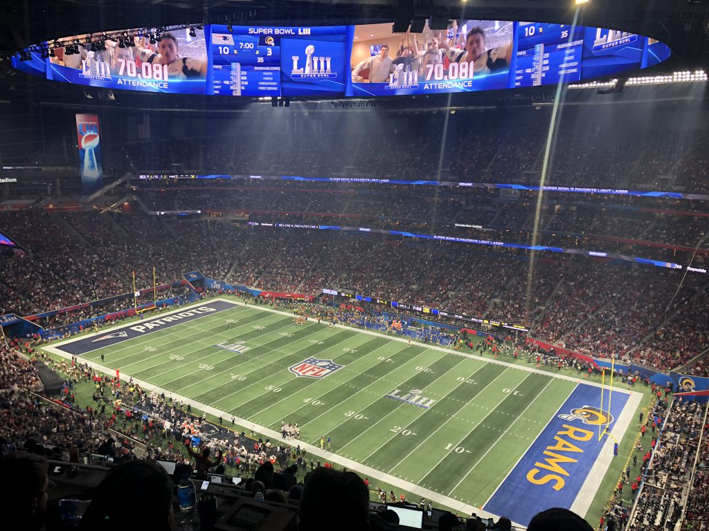 Super Bowl LIII - Ende