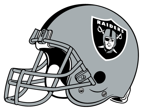 Oakland Raiders - Helm