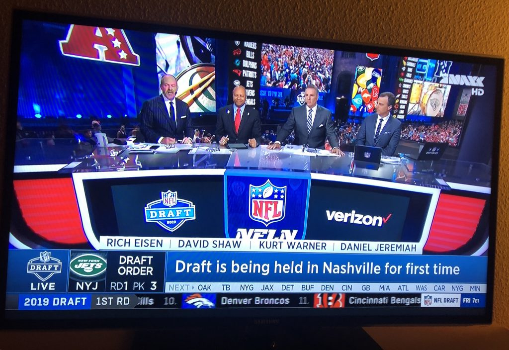 NFL Draft 2019 - TV