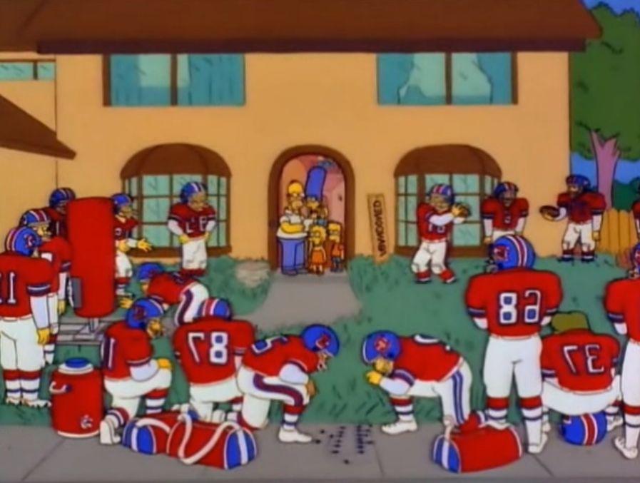Broncos - Homer