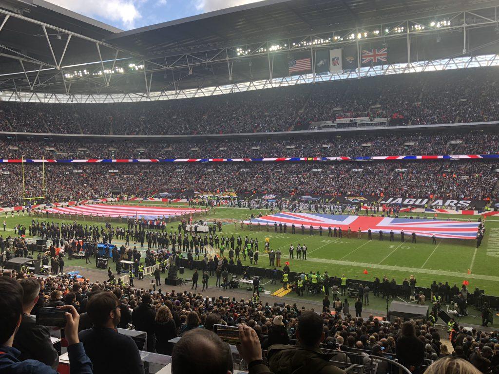 NFL London Tickets - Stadion innen