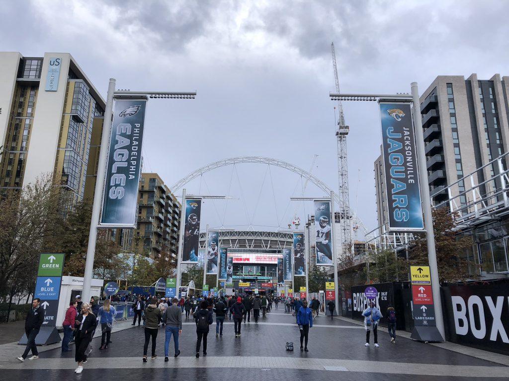 NFL London Tickets - Weg