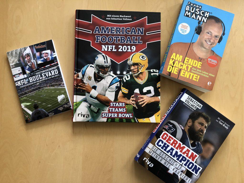 NFL Bücher - Tisch