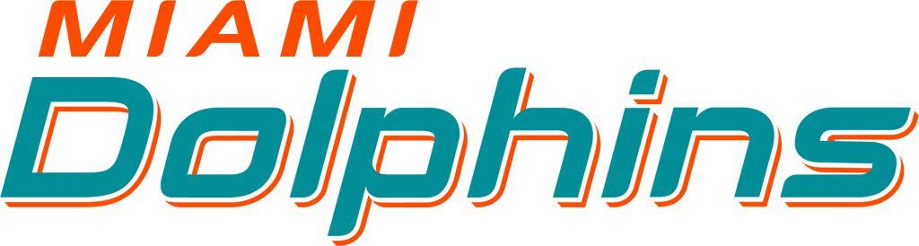 Miami Dolphins - Schrift