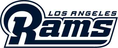 Los Angeles Rams - Schriftzug