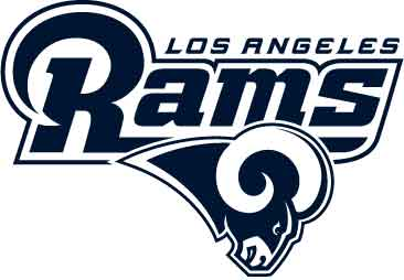Los Angeles Rams - Logo komplett