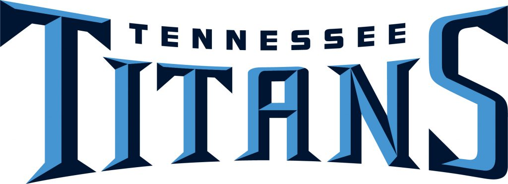 Tennessee Titans - Schrift