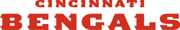 Cincinnati Bengals - Schrift