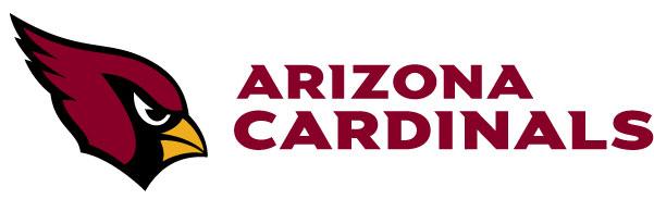 Arizona Cardinals - Logo mit Schrift klein