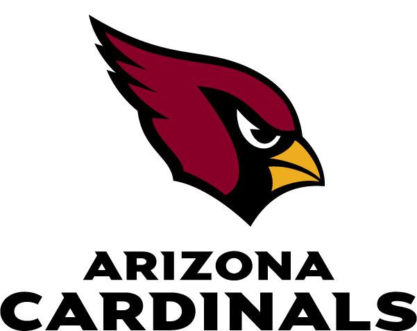 Arizona Cardinals - Logo mit Schrift