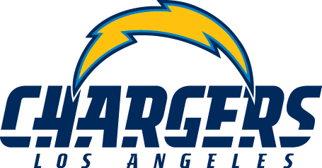 Los Angeles Chargers - Logo und Schrift