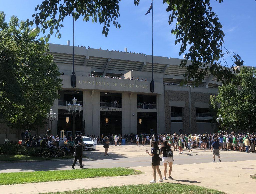 College Football - Stadion