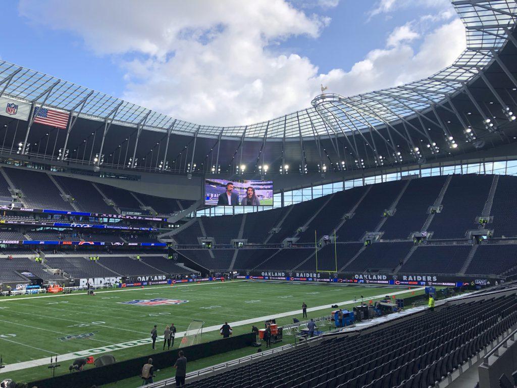 NFL London 2019 - Innenraum