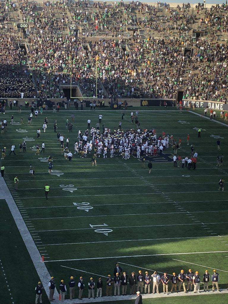 College Football - Spiel