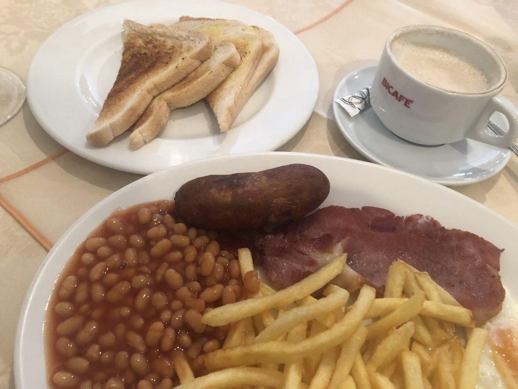 NFL London Liveticker - Frühstück