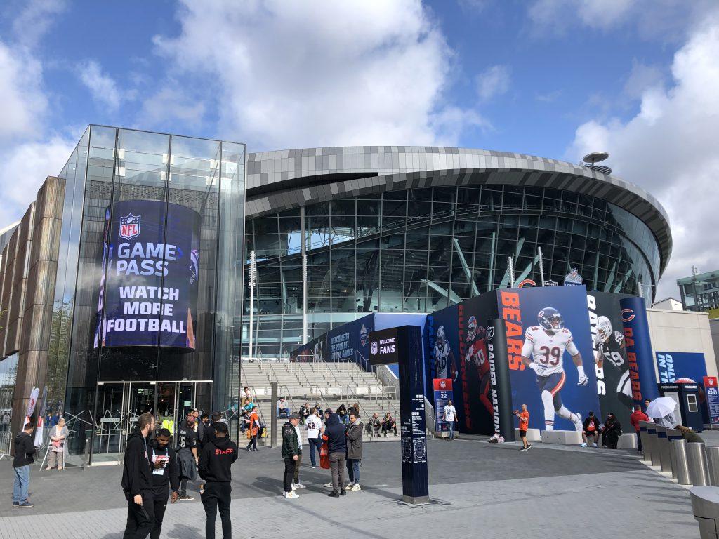 NFL London 2019 - außen