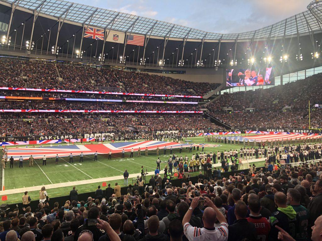 NFL London 2019 - Hymnen