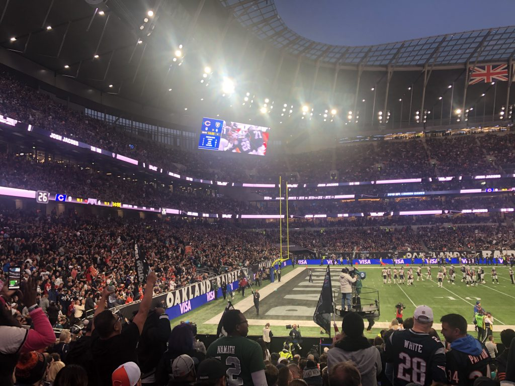 NFL London 2019 - Touchdown