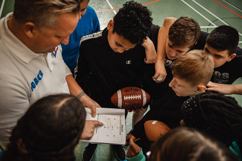 NFL Flag Programm - Die Gewinner - Coach