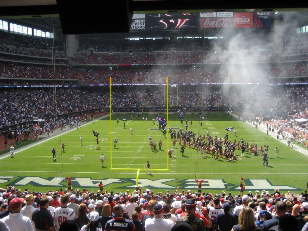 NFL live - meine Stadionbesuche - Houston 2008