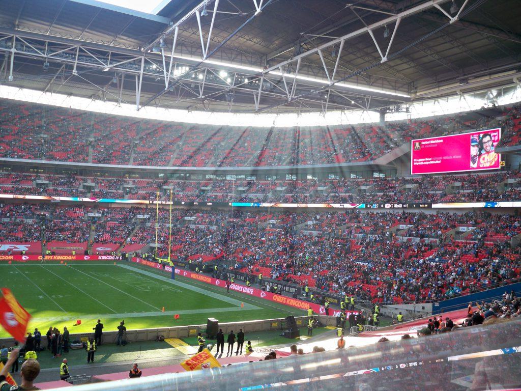 NFL live - meine Stadionbesuche - London 2015