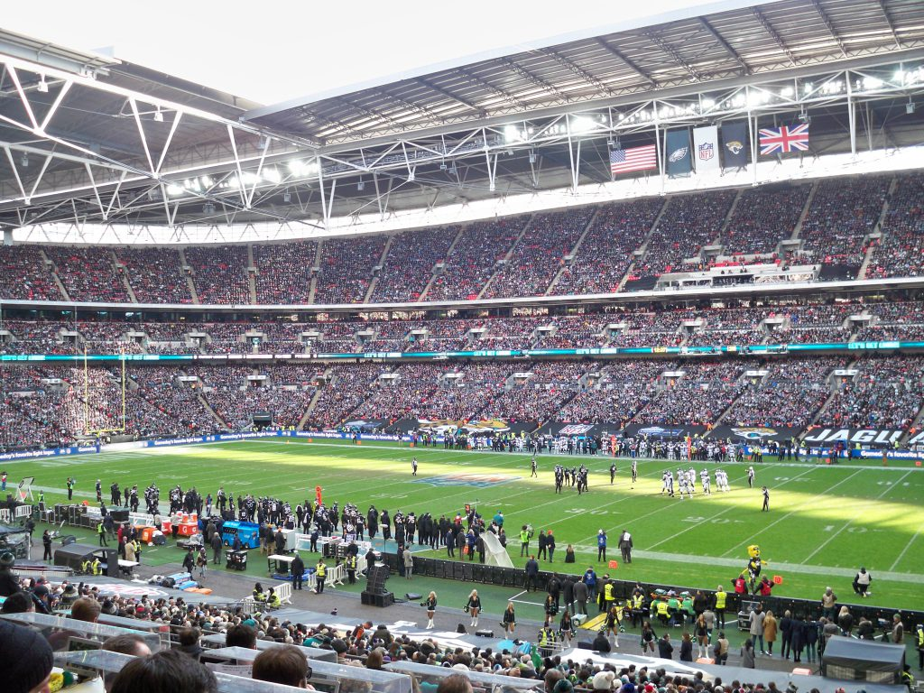 NFL live im Stadion - London 2018