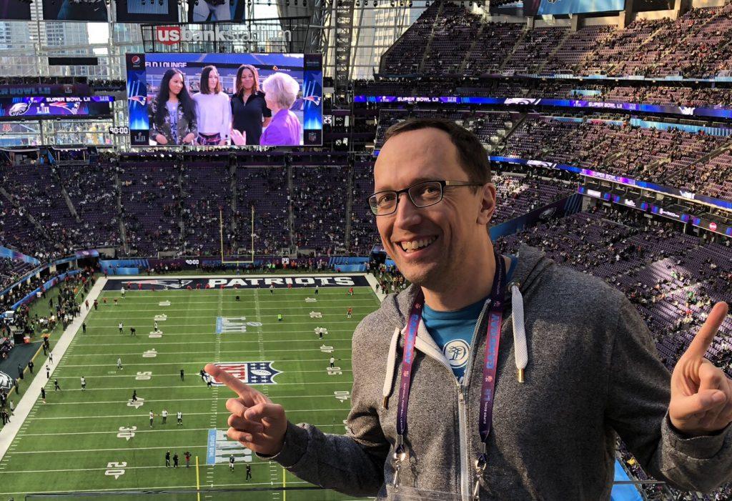 NFL live im Stadion - LII