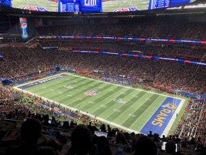Frauen in der NFL - Stadion
