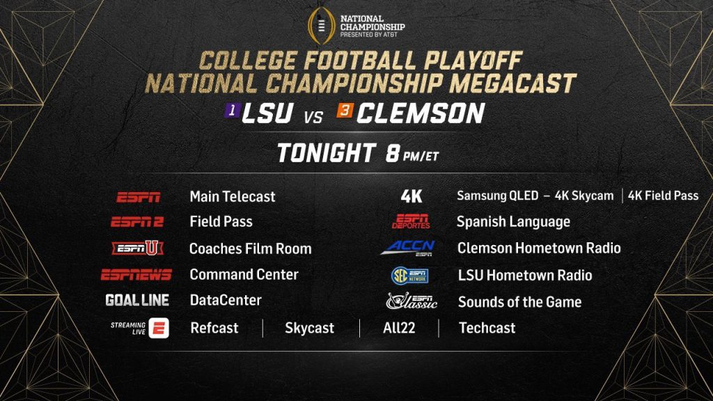 College Football Finale - TV