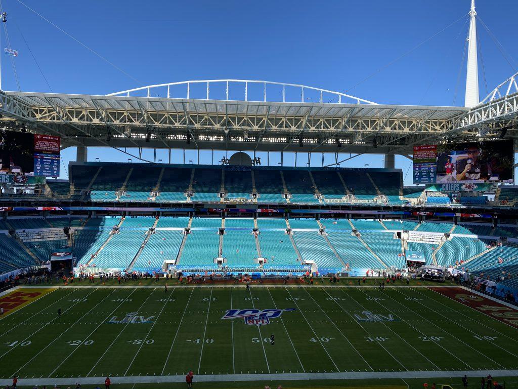 Corona in der NFL - leeres Stadion