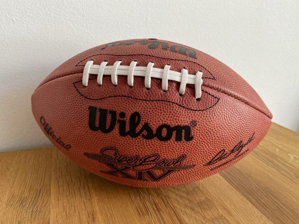 Alles über den Football - Ball
