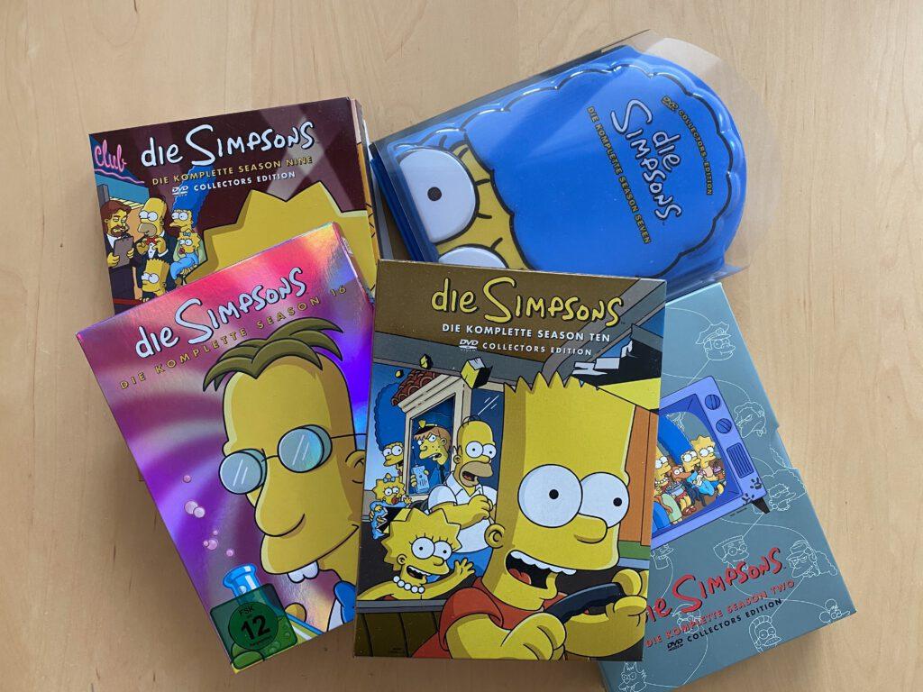 Die Simpsons - Cover