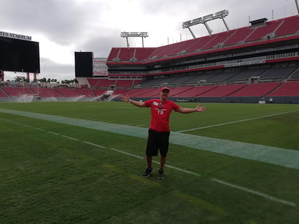 Tampa Bay Buccaneers - im Stadion