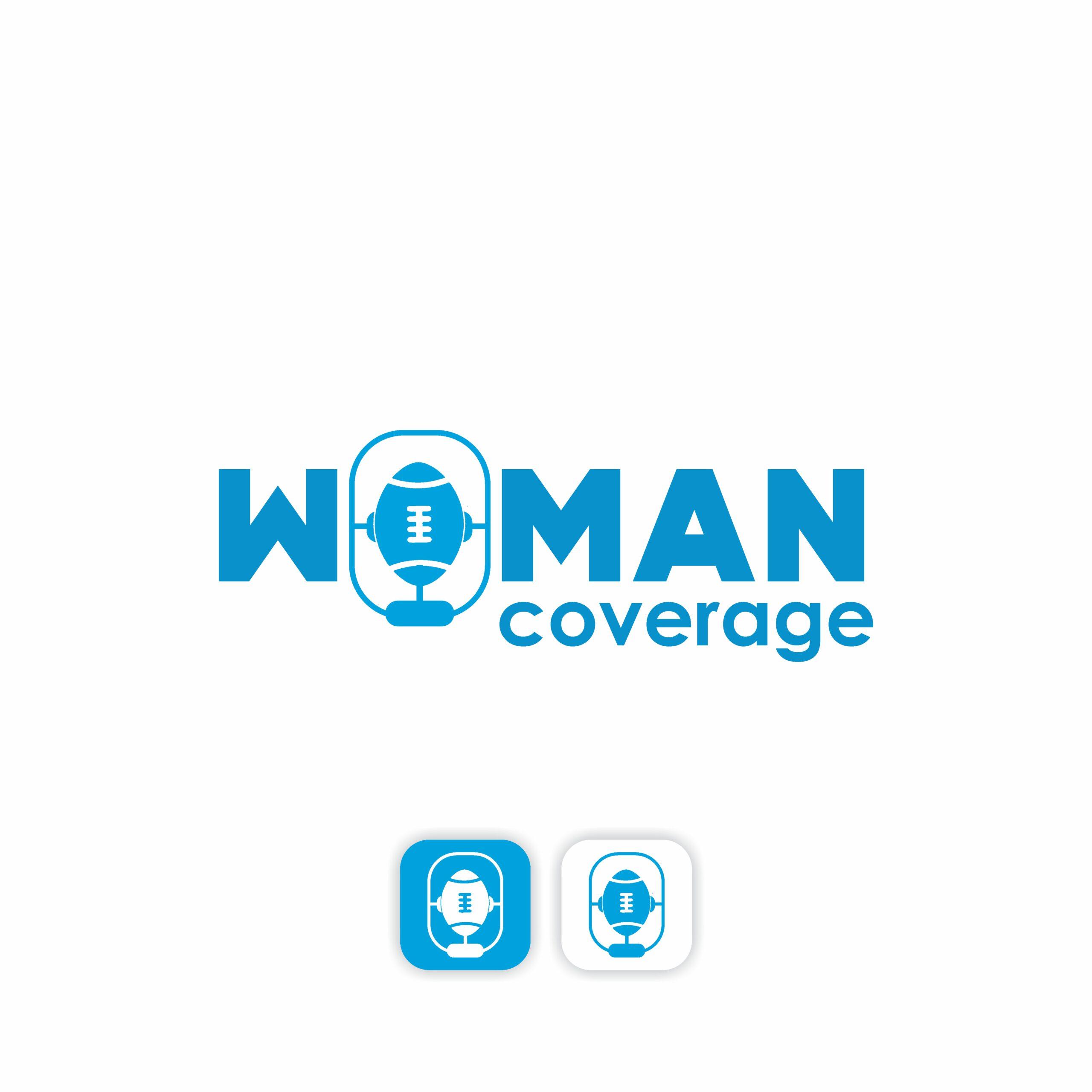 Woman Coverage - Logo