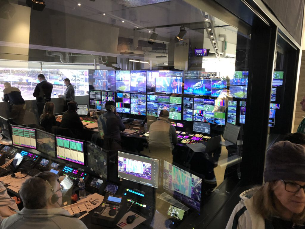 NFL live in den USA - Technik