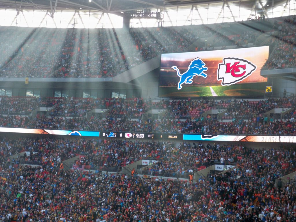 NFL in London - Titel
