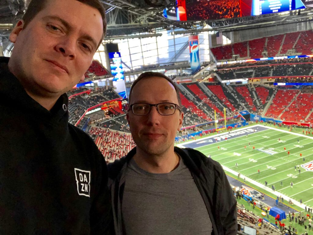 Super Bowl LV fällt aus - LIII 2