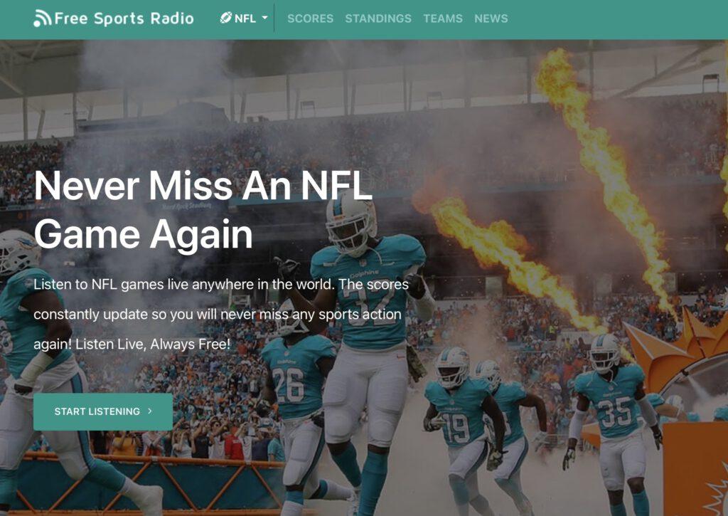 NFL live im Radio- FSR