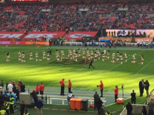 Cheerleader in der NFL - Stadion