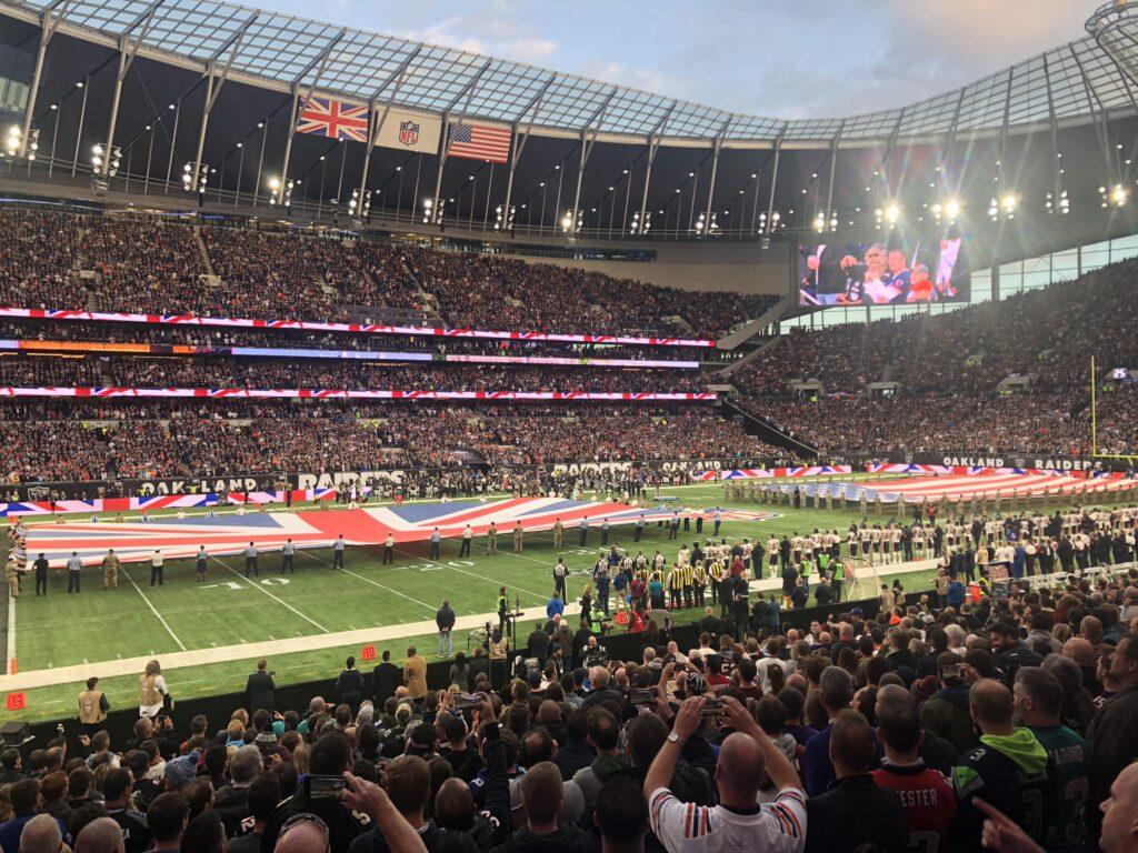 NFL Fahrplan 2021 - Tottenham