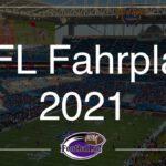 NFL Fahrplan 2021