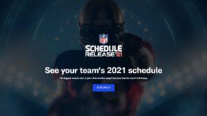NFL Spielplan 2021 - Start